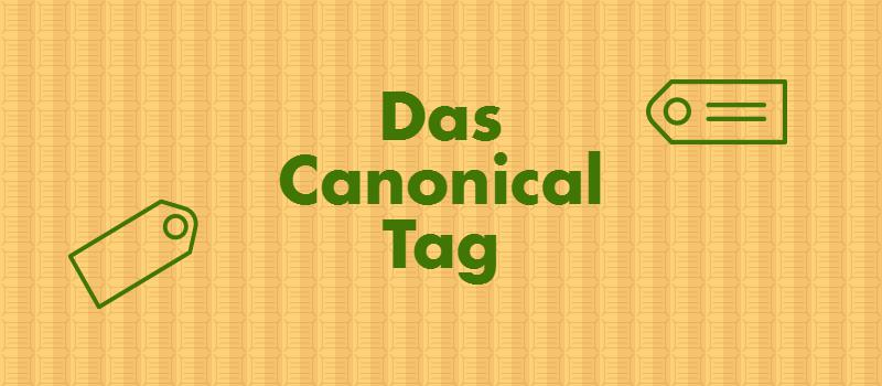 Canonical Tag - duplicated Content umgehen